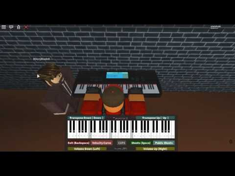 Hoist the Colours - Pirates of the Caribbean: World's End by: Hans Zimmer on a ROBLOX piano. [Easy]