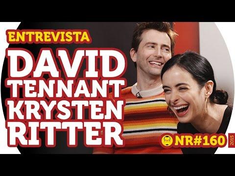 David Tennant e Krysten Ritter - Entrevista - NERD RABUGENTO