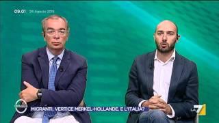 Omnibus - Migranti, esodo senza fine. Europa divisa (Puntata 24/08/2015)