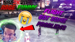 NBA 2K20 Rage and Funny Clips #7 (FLIGHT GOT SOME PROBLEMS)