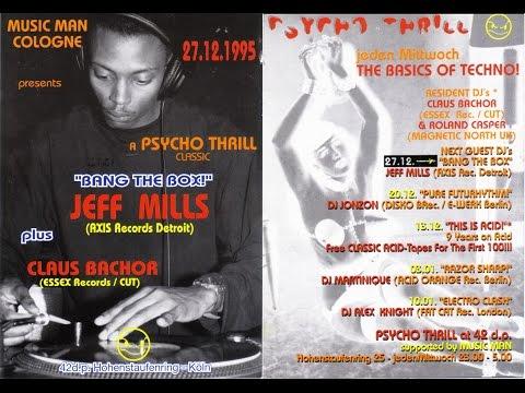"Jeff Mills ""Bang the Box"" @ 42 dp Cologne - True Techno Unda'Ground!"
