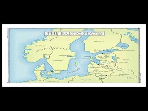 A Tease: baltic states globe
