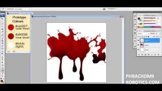 blood - photoshop tutorial