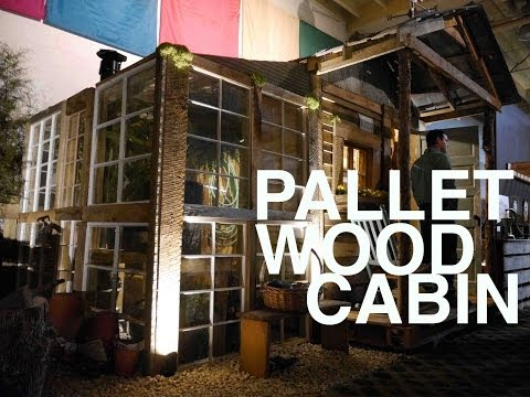 how to build 14x15 workshop at of pallets