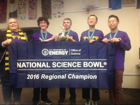 Fort Collins High School  Science bowl Team 2015-2016