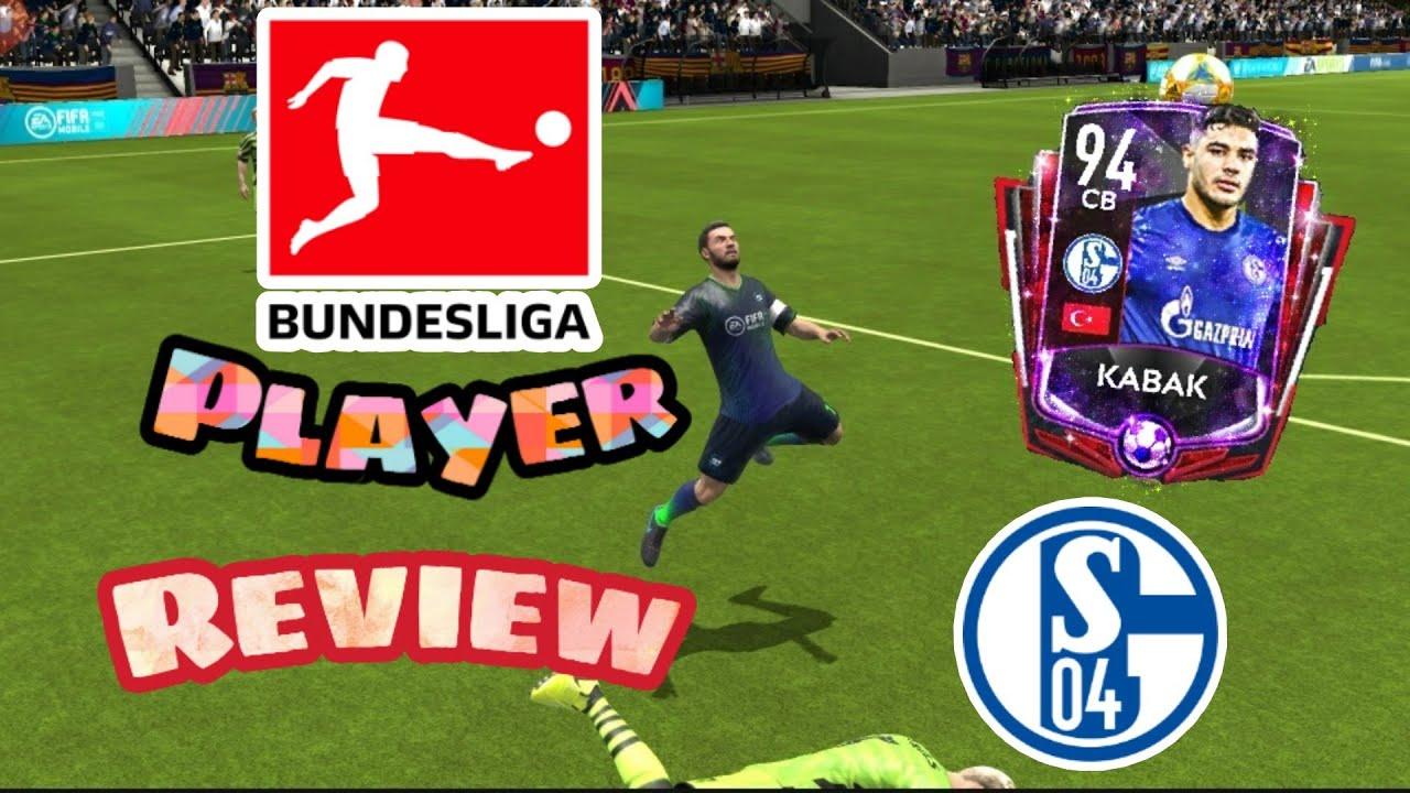 BUNDESLIGA RIVALS KABAK FULL PLAYER REVIEW FIFA MOBILE 20 !!! The Best CB  Of All Time ??? - YouTube