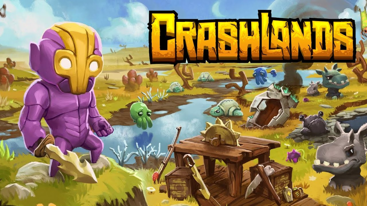 Crashlands - Ankündigungstrailer (Juni 2015) - YouTube