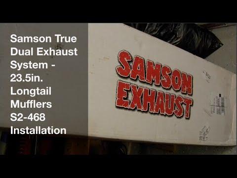 Samson True Dual Exhaust Installation