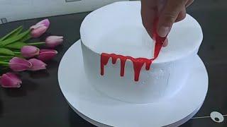 НИКОГДА не ДУМАЛА что можно украсить торт ТАК ПРОСТО а все были в восторге