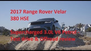 2017 Range Rover Velar Test drive & offroad review