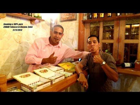 My Trip to CUBA - Smoking a 100% pure Cuban Tobacco - Che Guevara