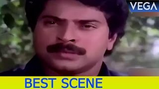 Mammootty See's T G Ravi Inside The Car || Padayani Movie Scenes