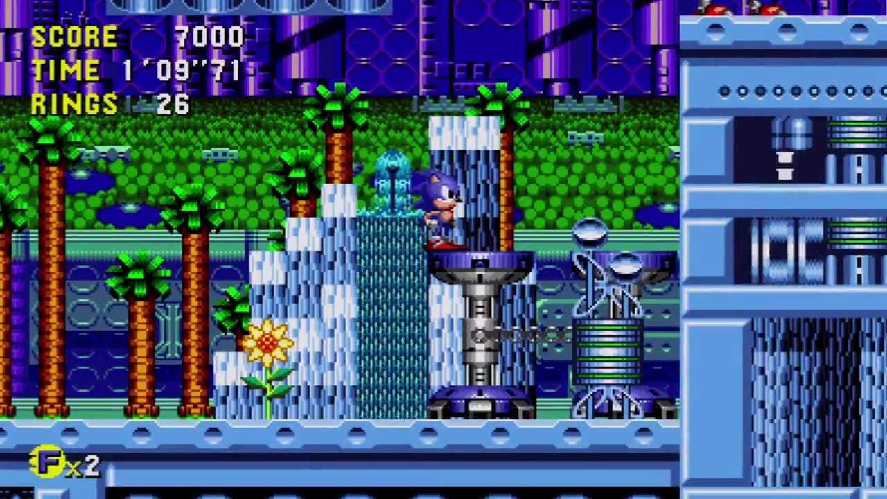 Sonic Cd Xbla Metallic Madness Zone 2 Good Future