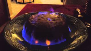 Flaming The Figgy Pudding
