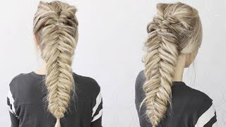 HOW TO: Dutch Fishtail Faux Hawk | EASY!