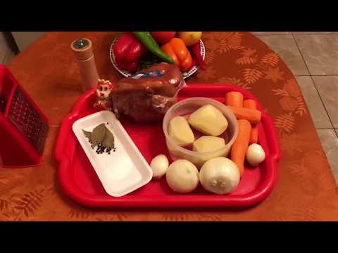 61Гороховый суп с рулькой пошаговый рецепт в мультиварке