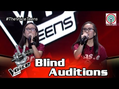 The Voice Teens Philippines Blind Audition: Kathlene and Arlene Badong - Ikaw Ay Ako
