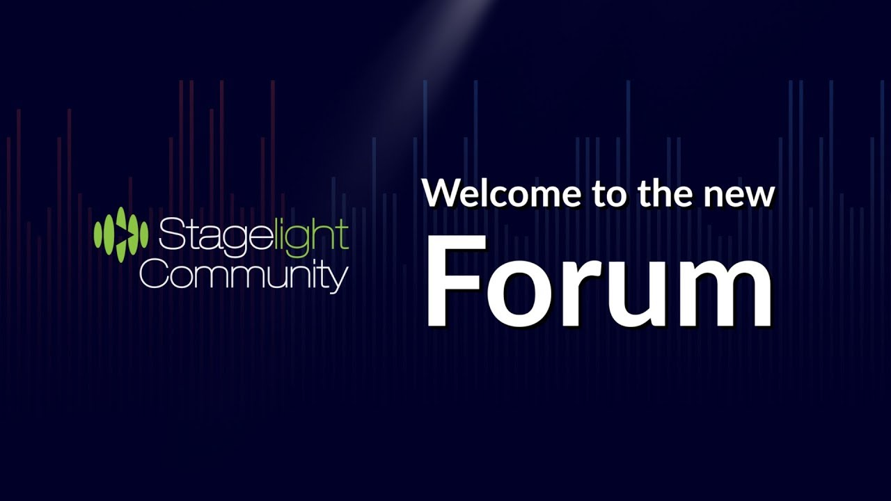 Stagelight.app Community Forum