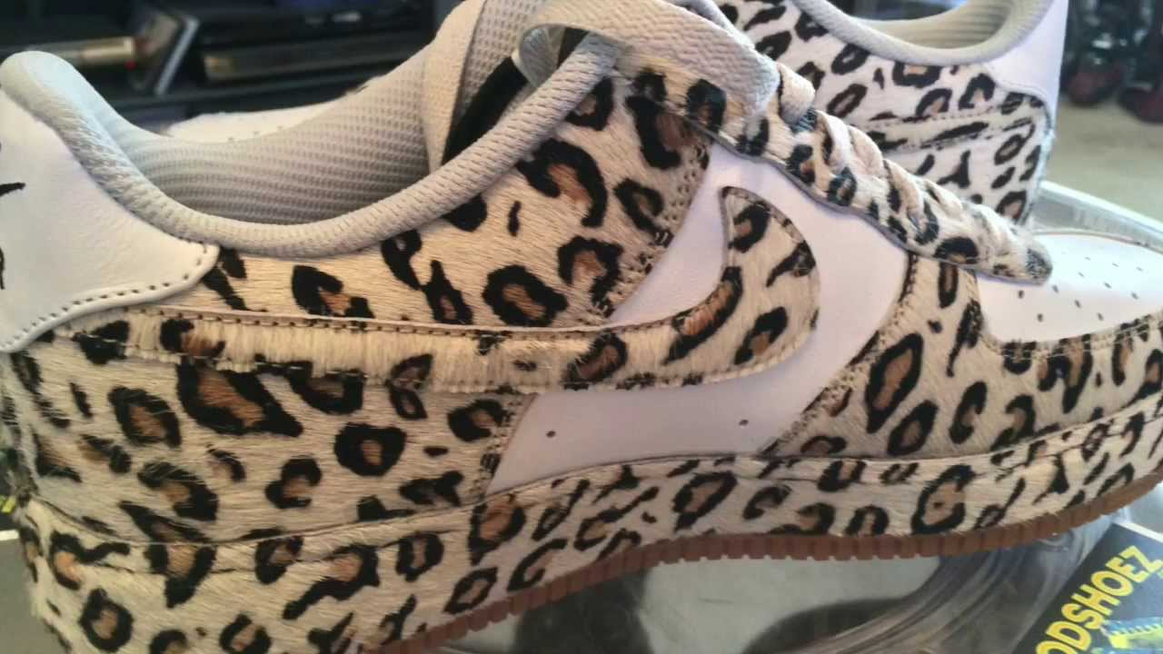 NIKE ID @NikeID Air Force 1 Low Year Of The Horse Pony Hair Leopard with White Leather