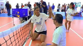 Volley Insieme: in 500 per scoprire il Sitting Volley con Lucchetta e Piccinini