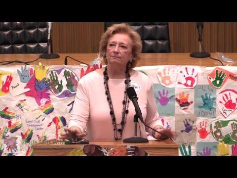 Early Education Advocacy Day 2016: MA State Representative Patricia Haddad