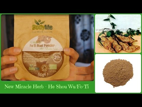 He Shou Wu / Fo-Ti - New anti-aging herb. Reverse grey hair. Sexual rejuvination. Stress relief.
