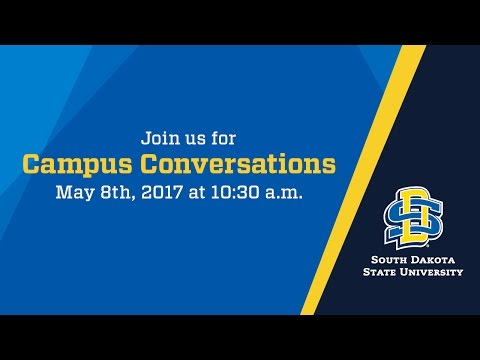 Campus Conversations | May 8, 2017