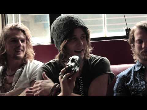 Tyler Bryant and the Shakedown - Backstage Interview 6/25/13