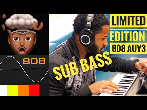 AudioKit's Limited Edition SUB BASS 808 Synth App AUV3