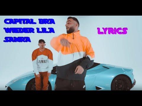 """lyrics-zu-""""wieder-lila---samra-&-capital-bra"""""""