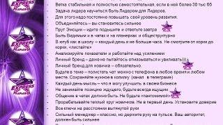Памятка Лидеру - 'Экспресс Планерка с персональной группой' Анна Черна