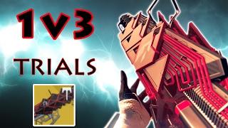 1v3 Trials w/ Outbreak Prime. SIVA SWARM COME IN CLUTCH | Destiny
