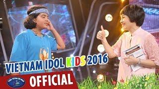 vietnam idol kids 2016 - ca si ngoc khue tap luyen cho top 6