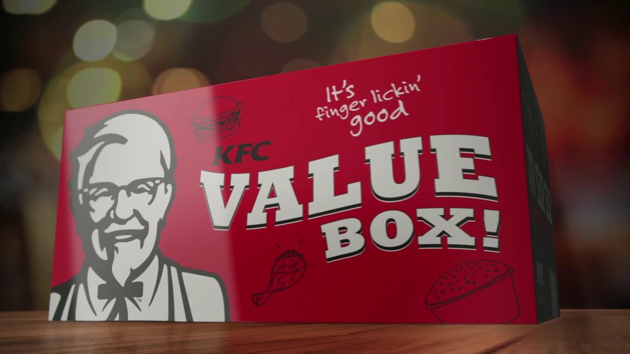Introducing KFC Value Box!