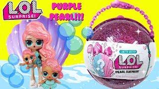 LOL Purple Pearl Surprise Wave 2 Unboxing with Treasure, Big Sister Treasure, and little Treasure