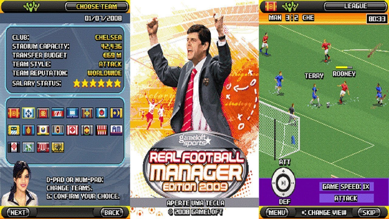 REAL FOOTBALL MANAGER 2009 JAVA EM APK PARA TODOS ANDROID 2018  #Smartphone #Android