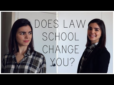 Does Law School Change You?