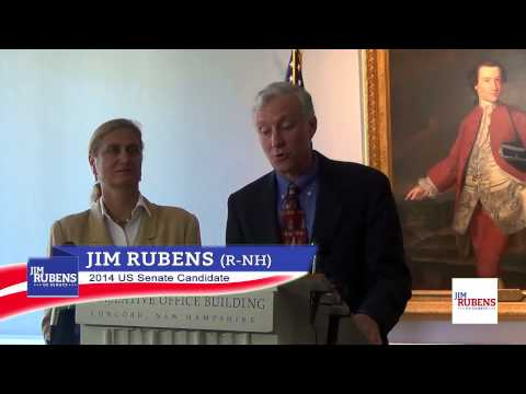 Jim Rubens Announces US Senate Candidacy