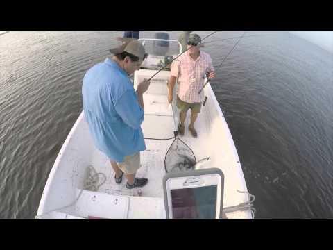 Salt water fishing with gopro hackberry la youtube for Hackberry la fishing