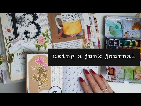 Junk Journal With Me #06 // How I Use My Junk Journal