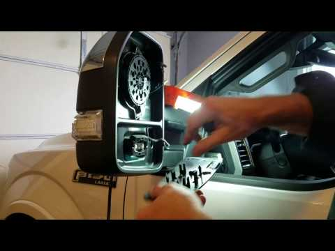 Ford F-150, 2015, Drivers Side Mirror Repair (New Updated Video, check description)