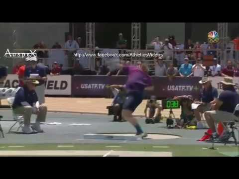 Ryan Crouser 22.65m Joe Kovacs 22.35m Sacramento 2017