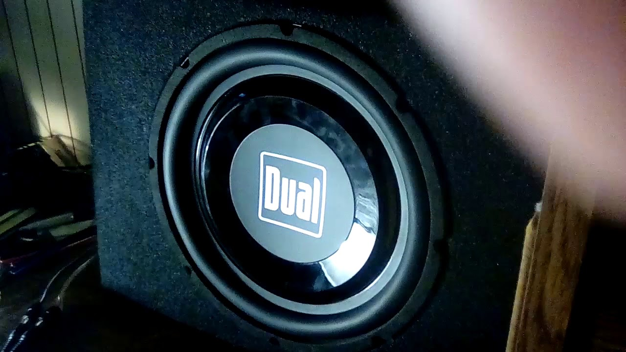 Dual Tbx10a Subwoofer Youtube