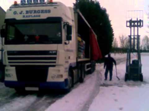 Road Haulage Services - G.J Burgess Haulage