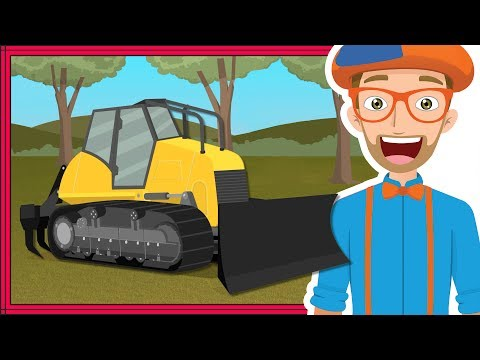 Thumbnail: Blippi Bulldozer | Educational Construction Trucks for Children