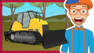 Download lagu Blippi Bulldozer Educational Construction Trucks for Children MP3