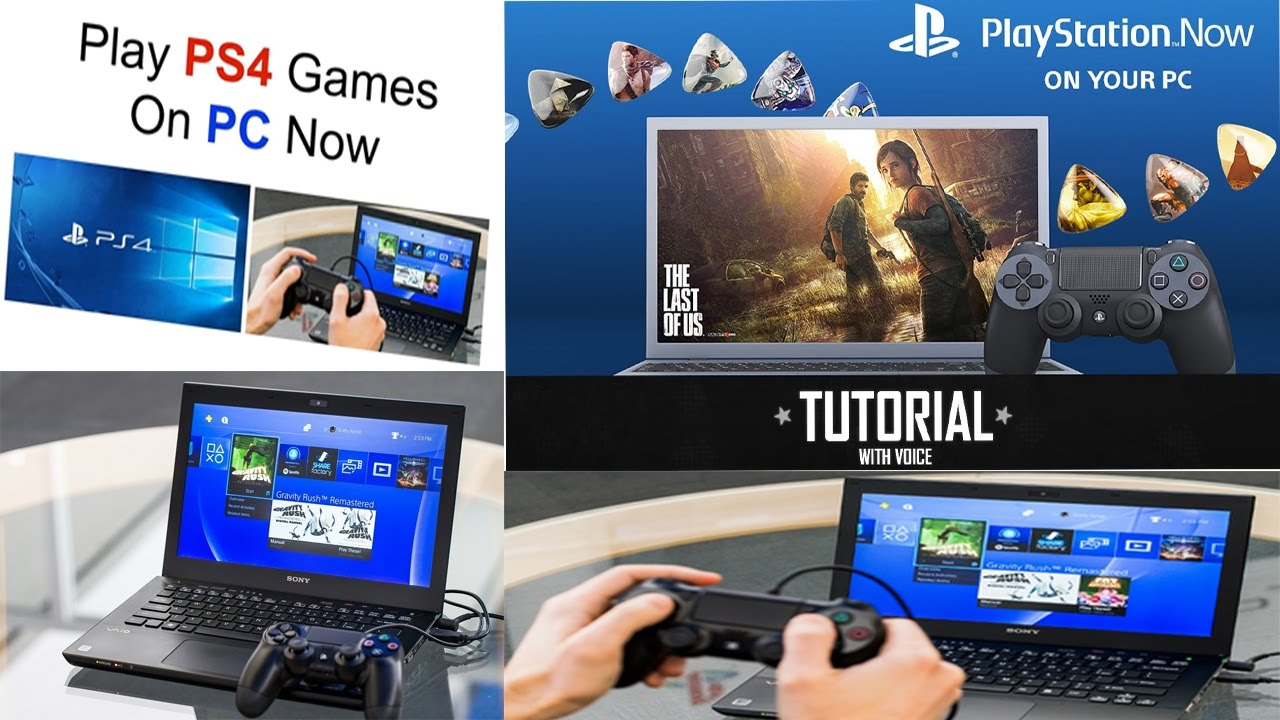 How To Play Ps4 Games On Your Pc Without Ps4 Youtube