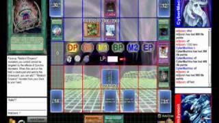 yugioh dueling network meklord machina deck vs elemental hero deck