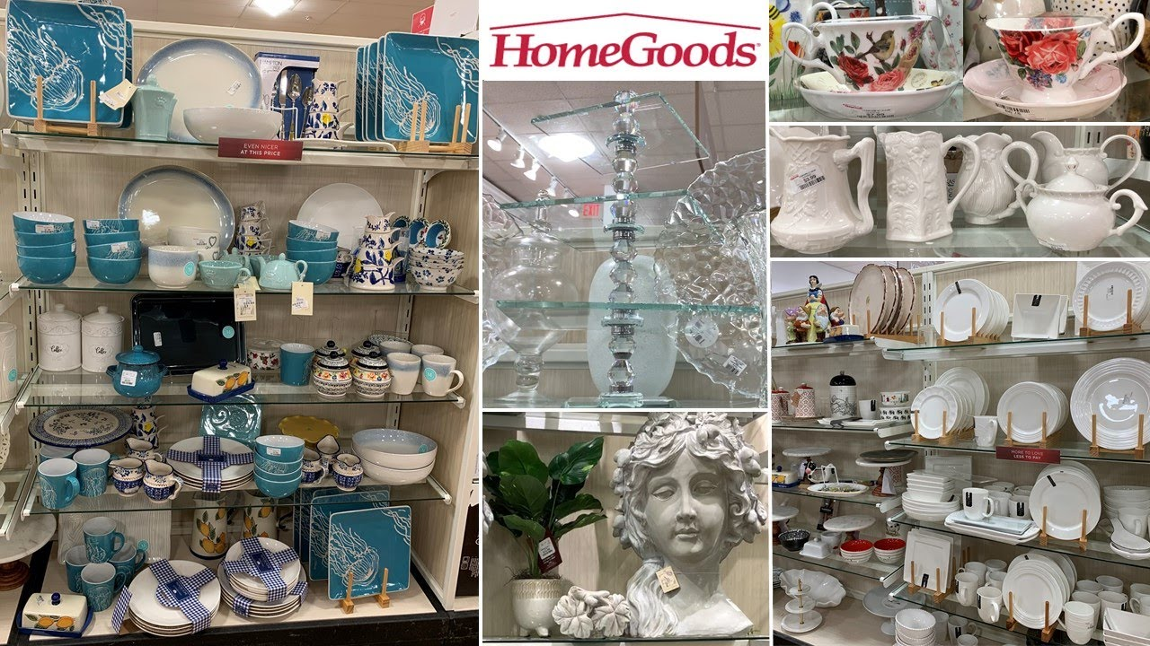 HomeGoods Home Decor * Kitchenware Table Decoration Ideas | Shop With Me 2020