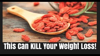 Healthy Foods That Can Stop Weight Loss | Goji Berries | TOTAL Transformation